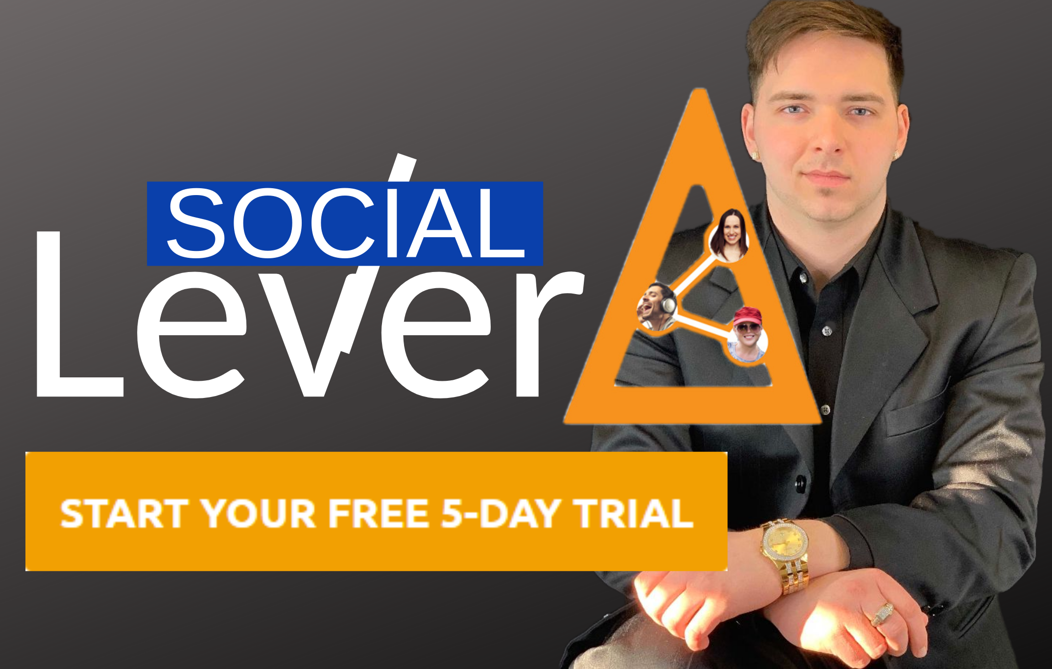 NEW SocialLever Instagram techonology helps you become an influencer, FAST!